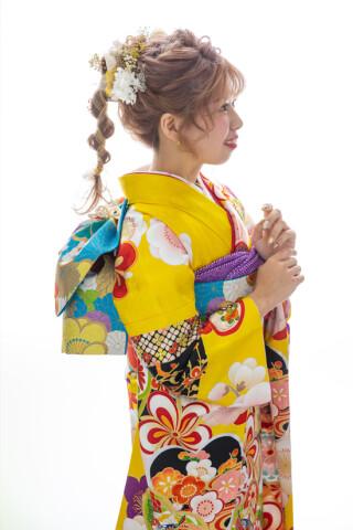 03617 黄 まり梅 プチブランの衣装画像3