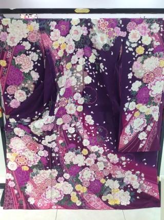 振袖☆古典(紫)の衣装画像1