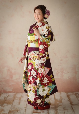 【ROLA FURISODE COLLECTION】〜パープル&ホワイト〜