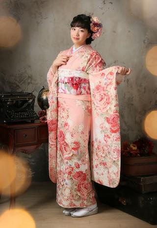 No.11845 【LIZ LISA】女の子の大好きなプリンセスピンクの振袖