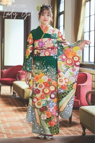 FURISODE LADY GO!スタジオウインコレクションの衣装画像2