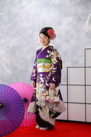 紫梅ニ鶴120000円+税