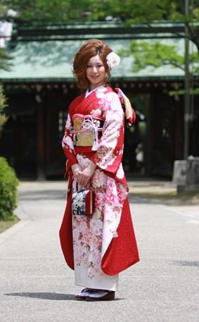 赤花柄  120000円+税