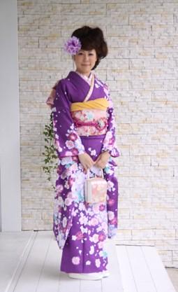 紫花柄 80000円+税