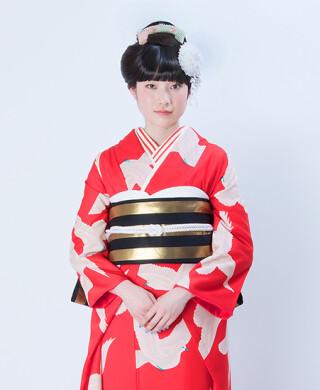 小松菜奈さんが成人式で着用☆それいゆオリジナル振袖RF-126の衣装画像2