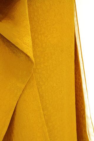 振袖無地(黄色・からし色)RF-160の衣装画像3