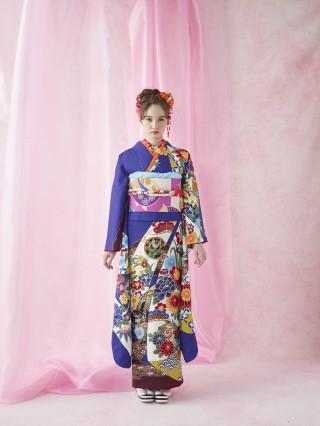 琉球紅型の衣装画像1