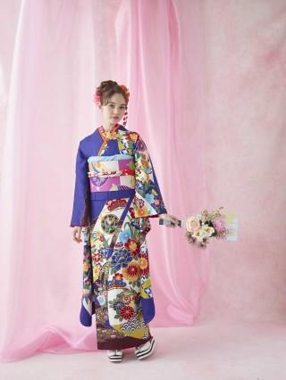 琉球紅型の衣装画像2