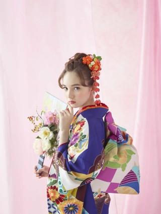 琉球紅型の衣装画像3