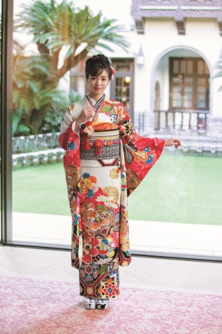 京友禅の衣装画像3