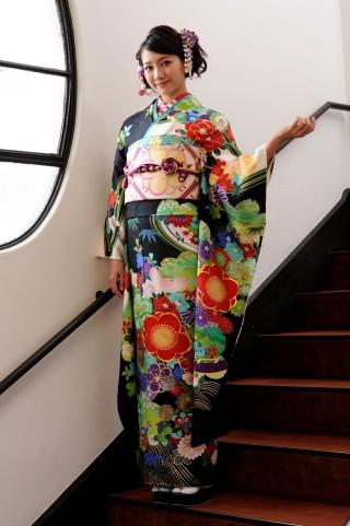 京友禅の衣装画像1