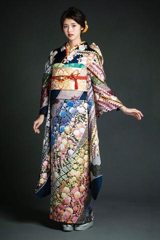格式高い辻ヶ花の特選振袖の衣装画像1