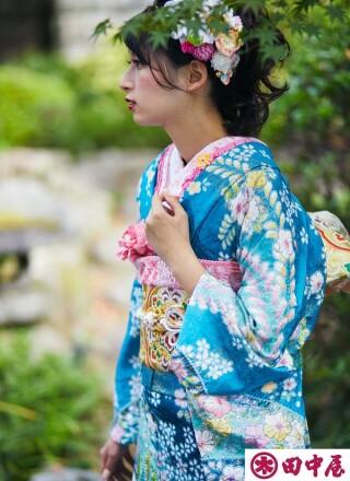 2021田中屋呉服店 振袖の衣装画像3