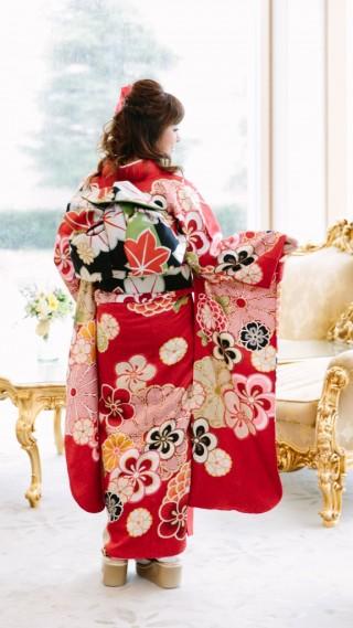 レイナドール赤花風車の衣装画像2