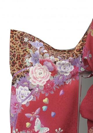 お仕立て上がり 正絹振袖 cutie beauty(キューティ ビューティ) の振袖(帯別売)の衣装画像2