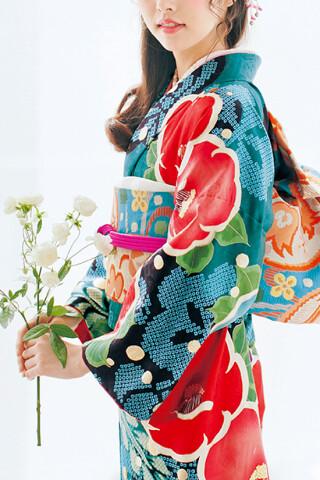 青緑×赤大椿 earth music&ecology