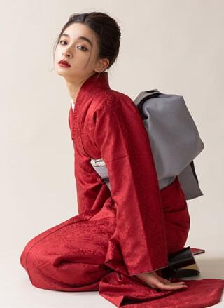 オリジナル振袖朱殷の衣装画像3