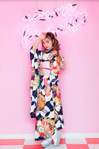 sakuraちゃん着用♡purple×white