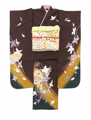 カッコイイ系★レトロなダークブラウン☆の衣装画像1