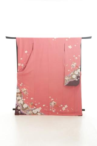 ナチュラル系♪古典花ピンクの衣装画像1