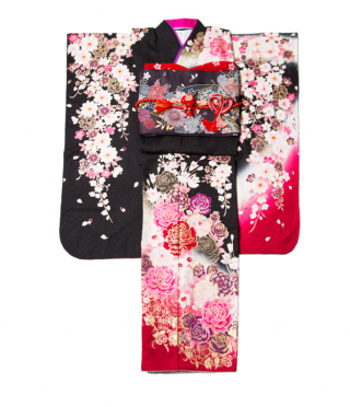 黒×ピンクで派手カワ♡大人っぽくも着こなせる!の衣装画像1