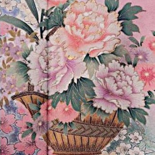 2015年成人式振袖レンタル 商品番号236 ピンク花柄 39,800円の衣装画像2