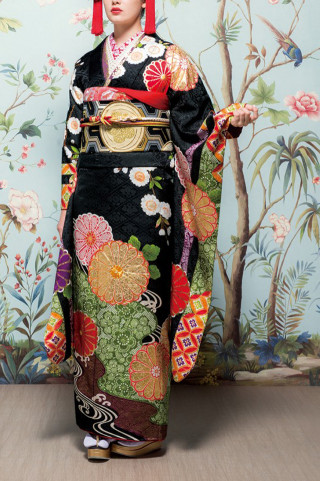 J・ROSSO 黒 大輪菊の衣装画像2
