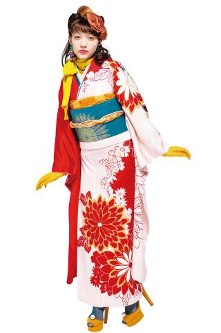 J・ROSSO 最新作/青森県内BLANCHEのみ取扱い レディRED×PINK バイカラーの衣装画像3