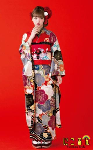 藤田ニコル フリソデ REDの衣装画像2
