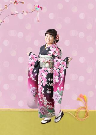黒×ピンク231の衣装画像1