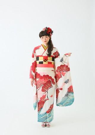 No.35983 大正浪漫ナHANATOME FURISODE②