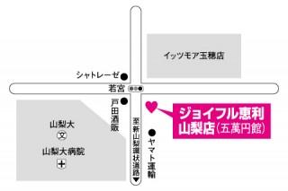 ジョイフル恵利 山梨店の店舗画像1