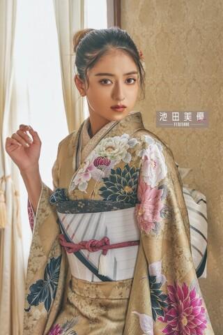 【池田美優】  振袖-540の衣装画像2