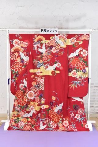鶴 古典 振袖の衣装画像1