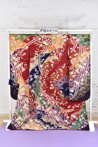 辻が花 古典 振袖の衣装画像1