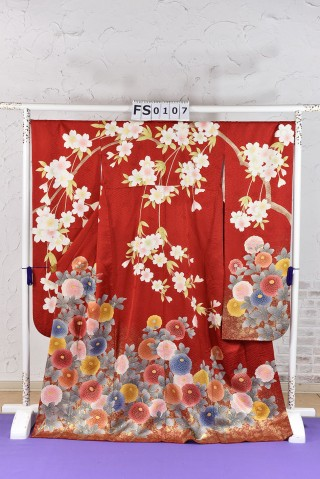 万寿菊 古典 振袖の衣装画像1