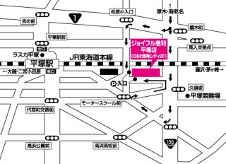 ジョイフル恵利 平塚OSC湘南シティ店の店舗画像1