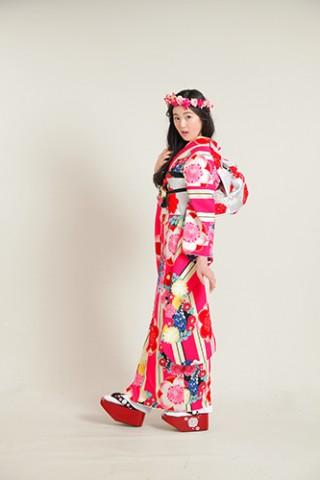れとろ姫 ピンク001の衣装画像1
