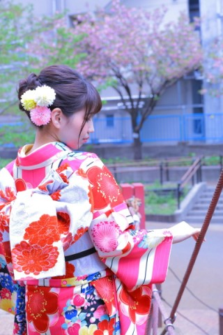 れとろ姫 ピンク001の衣装画像3
