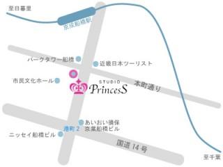 Studio Princess 船橋店の店舗画像3