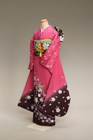 プリンセス神戸_ピンク振袖