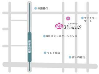 Studio Princess 岡山店の店舗画像3
