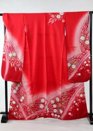 御振袖 赤の衣装画像3