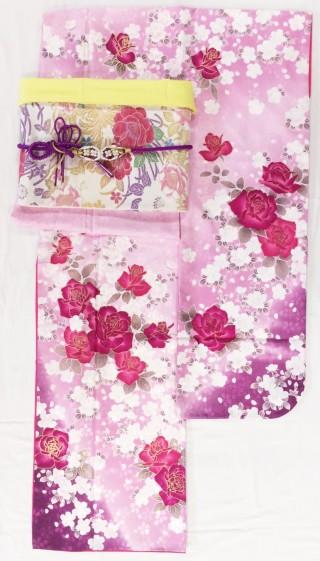 《レンタル》ピンク×バラ