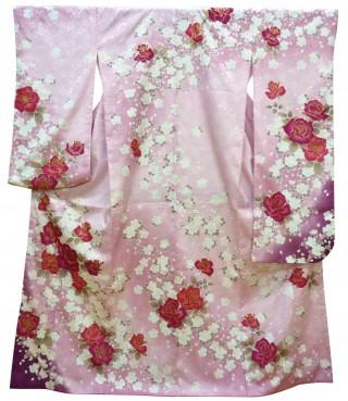 《レンタル》ピンク×バラの衣装画像2