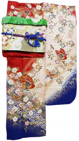 《レンタル》赤×ピンク×枝垂桜