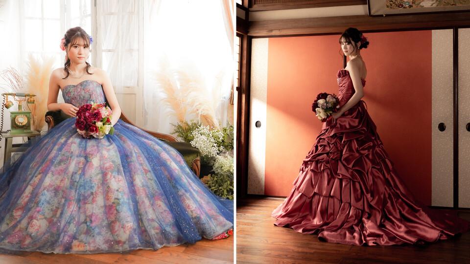 ドレス撮影