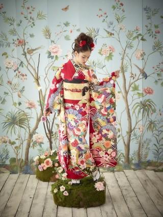 古典柄振袖の衣装画像2