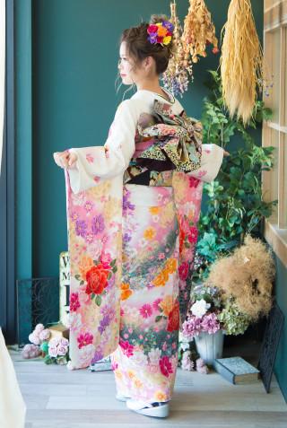 Be's 110 白花園に蝶 Mの衣装画像3
