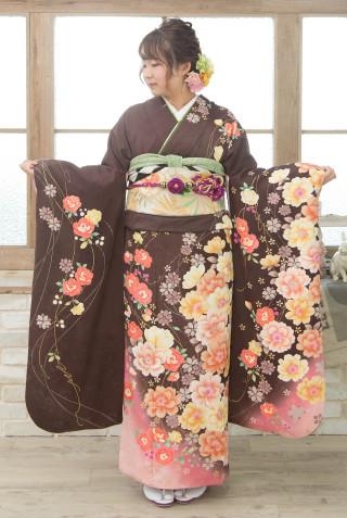 ブラウン花コレクション Mの衣装画像2